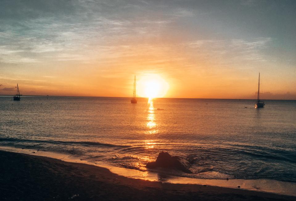 Martinique- coucher de soleil