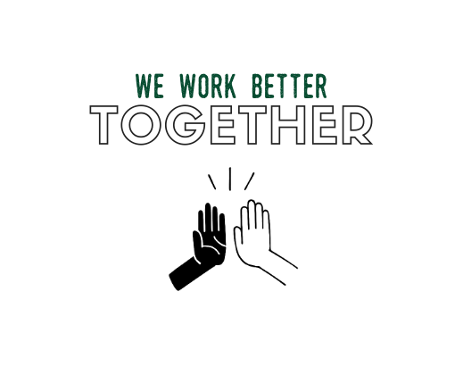 we work better together