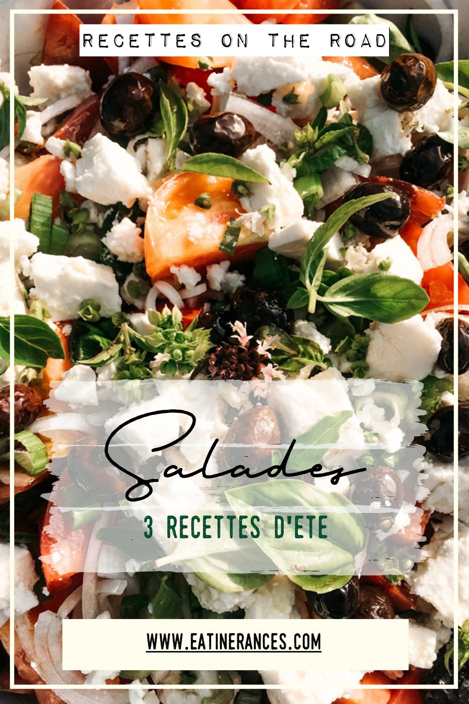 Salades été recettes
