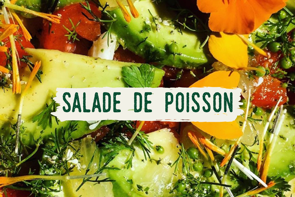 salade de poisson
